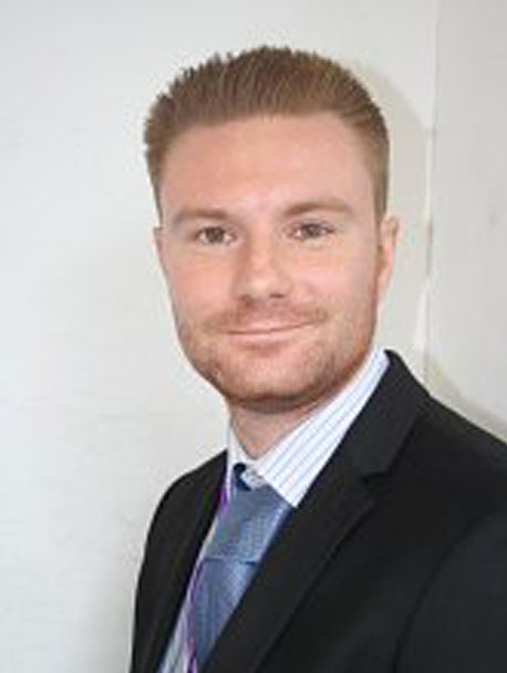 Daniel Haddow senior teacher at Bedford Free School