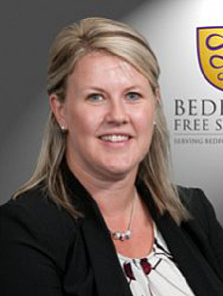 Rachel Carter support staff at Bedford Free School