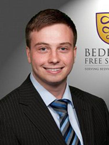 Tim Blake senior staff at Bedford Free School