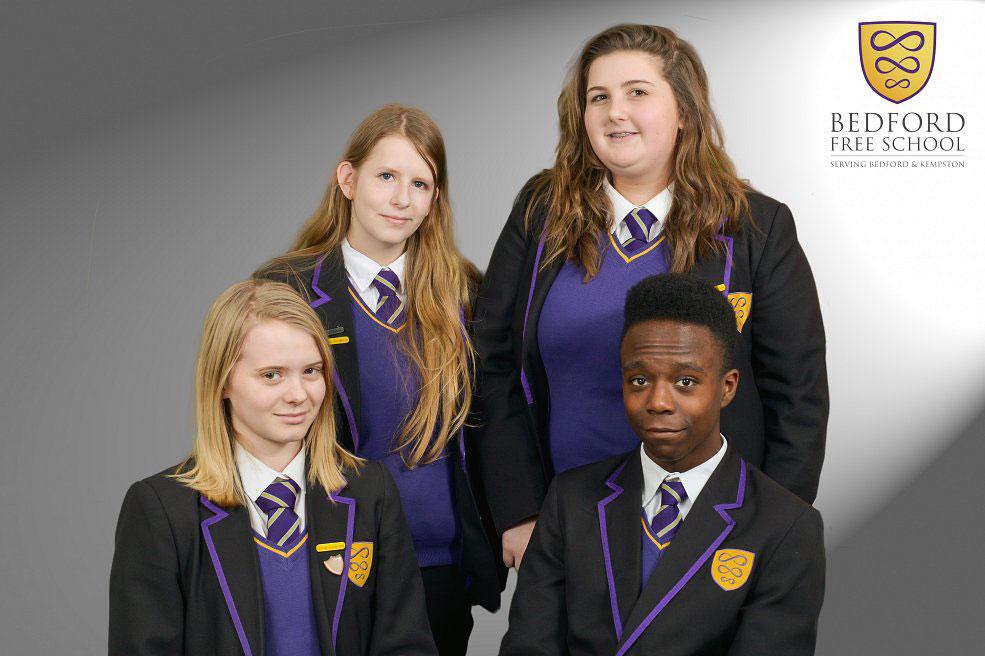 bedford free school student portrait